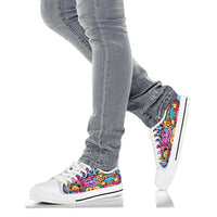 Graffiti Low Top Shoe-TD Gift Solutions.com