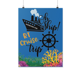 RT Swag | RT Cruise Ship Door Poster | RT Life | Cruise Vacation - Posters