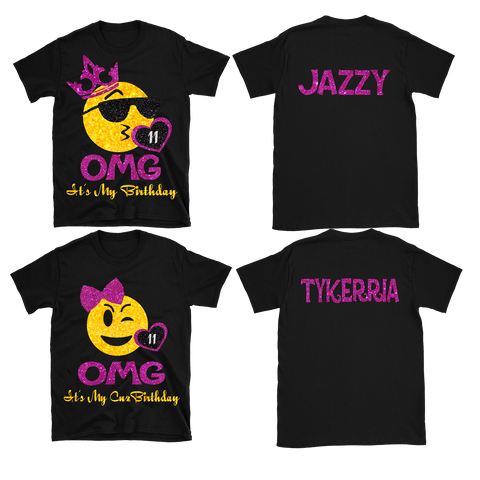 Jazzy's Birthday T-shirts - TD Gift Solutions.com
