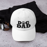 Father's Day | Paw Print Dog Dad Embroidered Hat-TD Gift Solutions.com