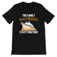 Family Cruise | The Family That Cruises Together, Stays Together T-shirt - T-Shirts