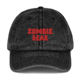 Accessories | Zombie Gear Vintage Cotton Twill Cap-Caps-TD Gift Solutions.com