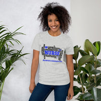 Blue Nurse Always Essential-T-Shirt-TD Gift Solutions.com