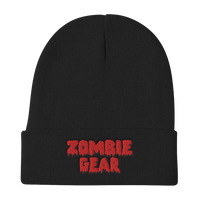 Mom Gifts | Zombie Gear Embroidered Beanie-Beanie-TD Gift Solutions.com