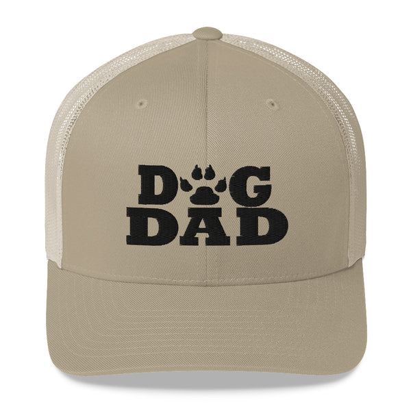 Dad Gifts | Trucker Style Paw Print Dog Dad Cap-TD Gift Solutions.com