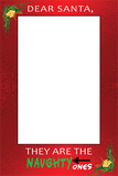 Santa's Naughty List Photo Booth Frame | Santa Claus | Dear Santa, They are the naughty ones! - TD Gift Solutions.com