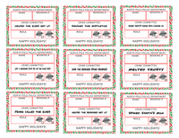 Santa's Naughty List Printable Sign | Naughty List | Christmas Party - TD Gift Solutions.com
