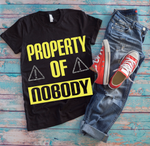 T-Shirt Decal | Product of Nobody Heat Transfer Decal Set - TD Gift Solutions.com