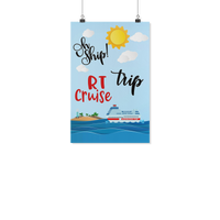 RT Trip Cruise Door Poster | Cruise Life | New RT - Poster