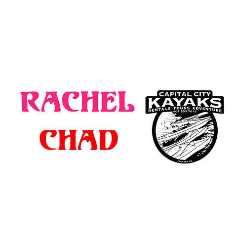Rachel L - Custom Decal Order - TD Gift Solutions