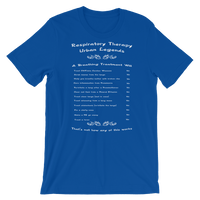 RT Swagger | Respiratory Therapy Urban Legends Short-Sleeve Unisex T-Shirt -