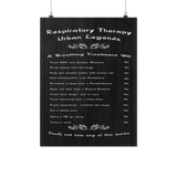 Respiratory Therapy Urban Legends Poster - Poster