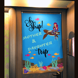 Cruise Vacation | Mother & Daughter Trip Cruise Ship Door Poster | Cruise Life - Poster