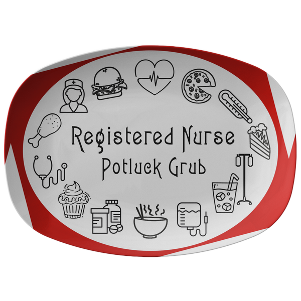 RN Life | Nursing Life Serving Platter | RN Gifts - Dinnerware