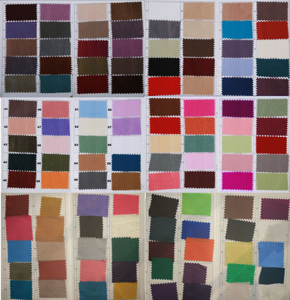 Tafetta color swatches|www.simidress.com|prom dresses|party dresses|wedding dresses