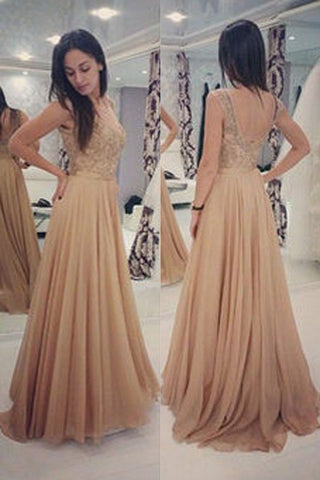 cb99301c6fe Backless Prom Dresses with Beading