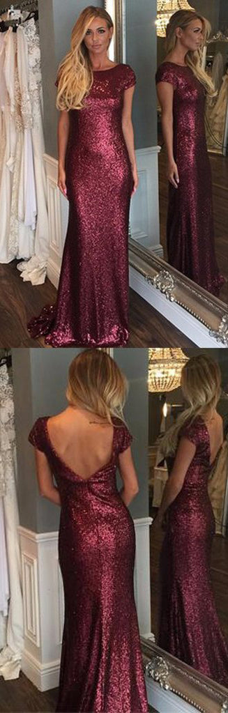 Sequin Bridesmaid Dresses from simidress.com