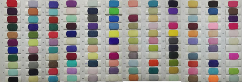 Color swatches | wedding veils | www.simidress.com