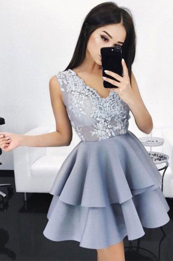 Sexy Blue Homecoming Dress,Short Prom Dresses for Girls,SH51
