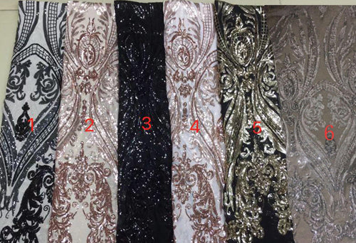simidress.com offer Fabulous Black Mermaid Sequins Long Sleeve Prom Dresses Evening Gowns, SP452