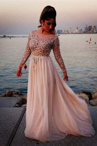 Cheap Sexy Prom Dresses,Long Sleeves Prom Dresses,Cocktail Prom Dresses,SVD364