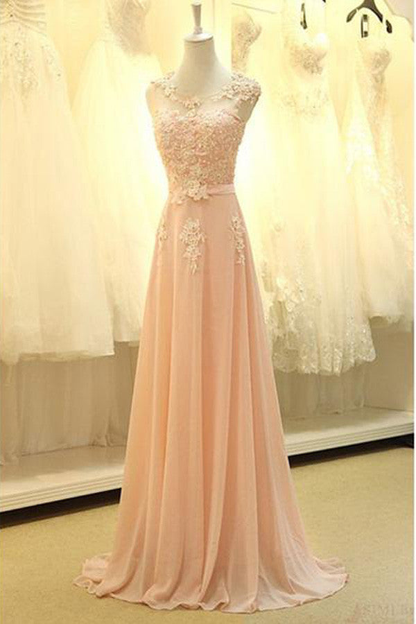 Long Prom Dress,Real Made Appliques Long Prom Dress,Evening Dress,SVD308