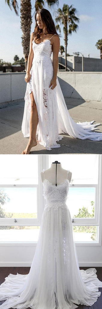 beach wedding dresses at simidress.com