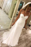 Elegant Sweetheart Tulle Mermaid Lace Wedding Dresses with Appliques,SW88