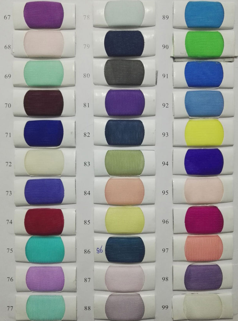 Tulle Color chart 4 | www.simidress.com