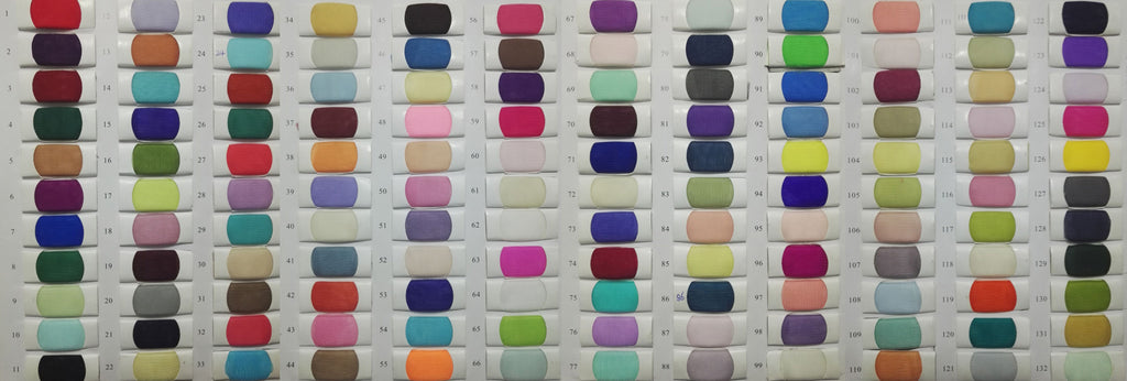 Tulle color swatches for prom dresses, wedding dresses at www.simidress.com