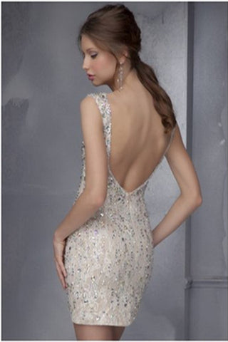 Short Glittering Prom Dresses,Charming Prom Dresses,Party Dresses Evening Dress SD306