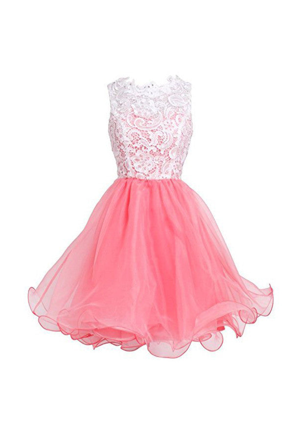 High Quality Organza Short Homecoming Dresses, Short Party Prom Dresses, SH63