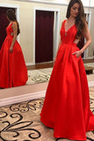 Sexy Long Prom Dresses, Dress for Senior Prom, Sleeveless Evening Dresses, Formal Dress,M41
