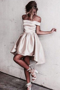 Sexy Off Shoulder Prom Dresses,Short Prom Dresses,Short Homecoming Dresses, SH71