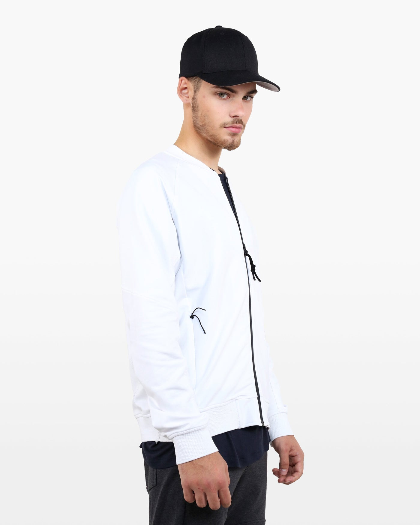 Curie Jacket DTT in white