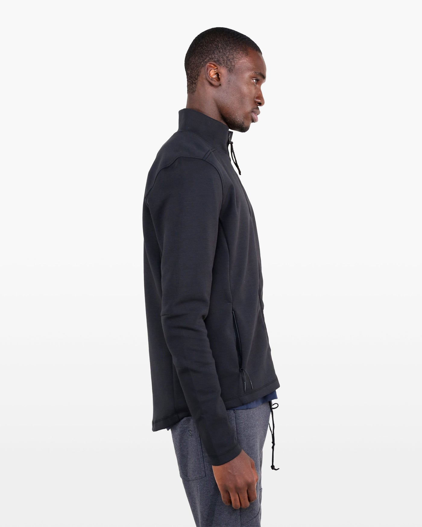 Descartes Jacket SUP in black