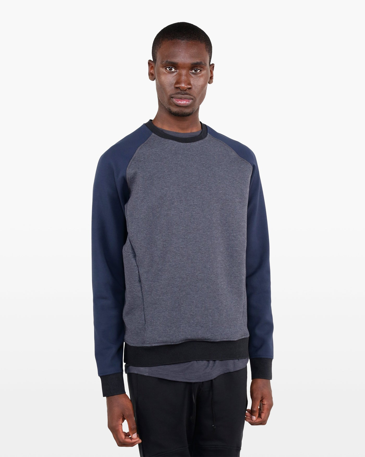 Aristotle Sweatshirt SUP in charcoal/marine