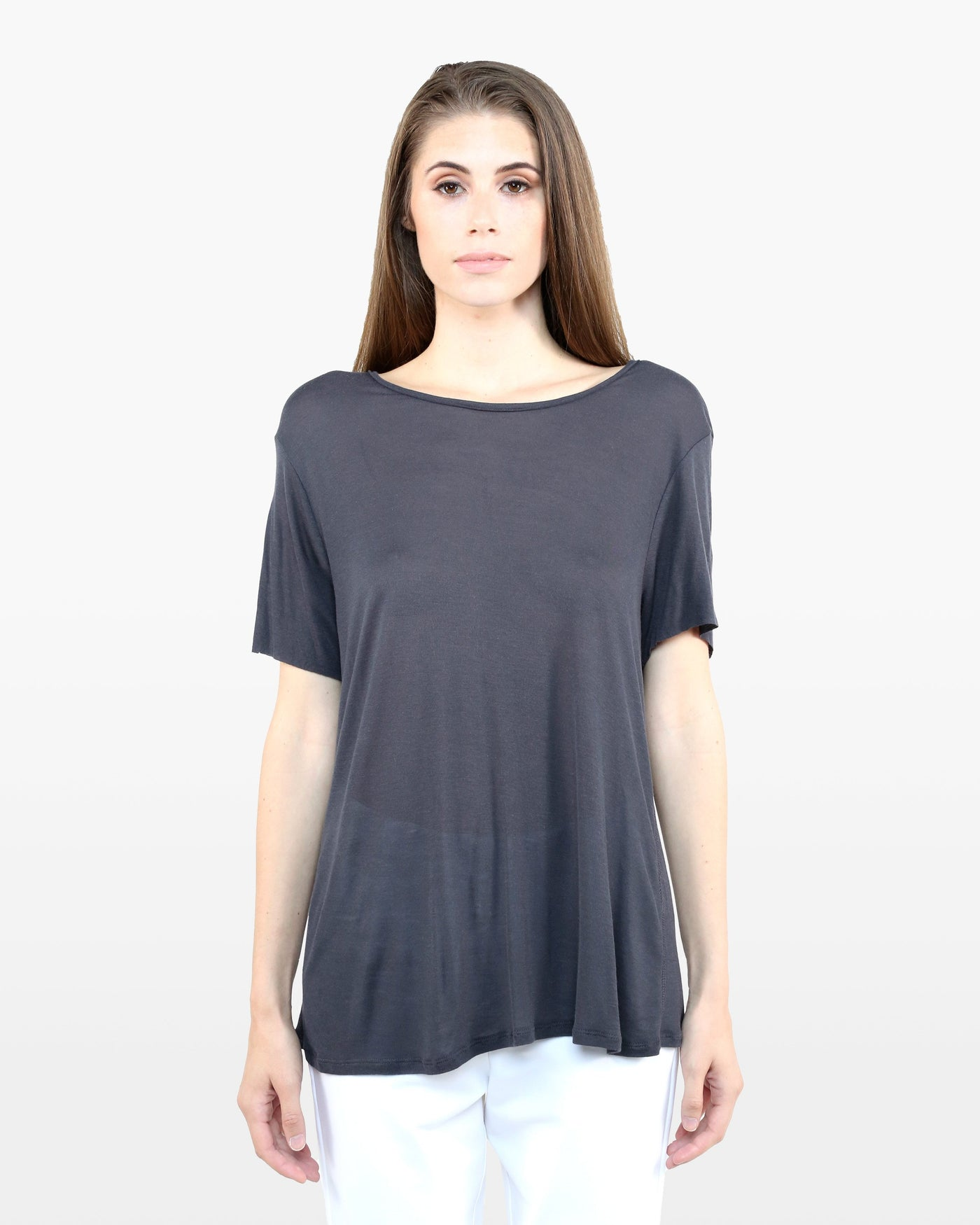 Avery Tee FIC in charcoal