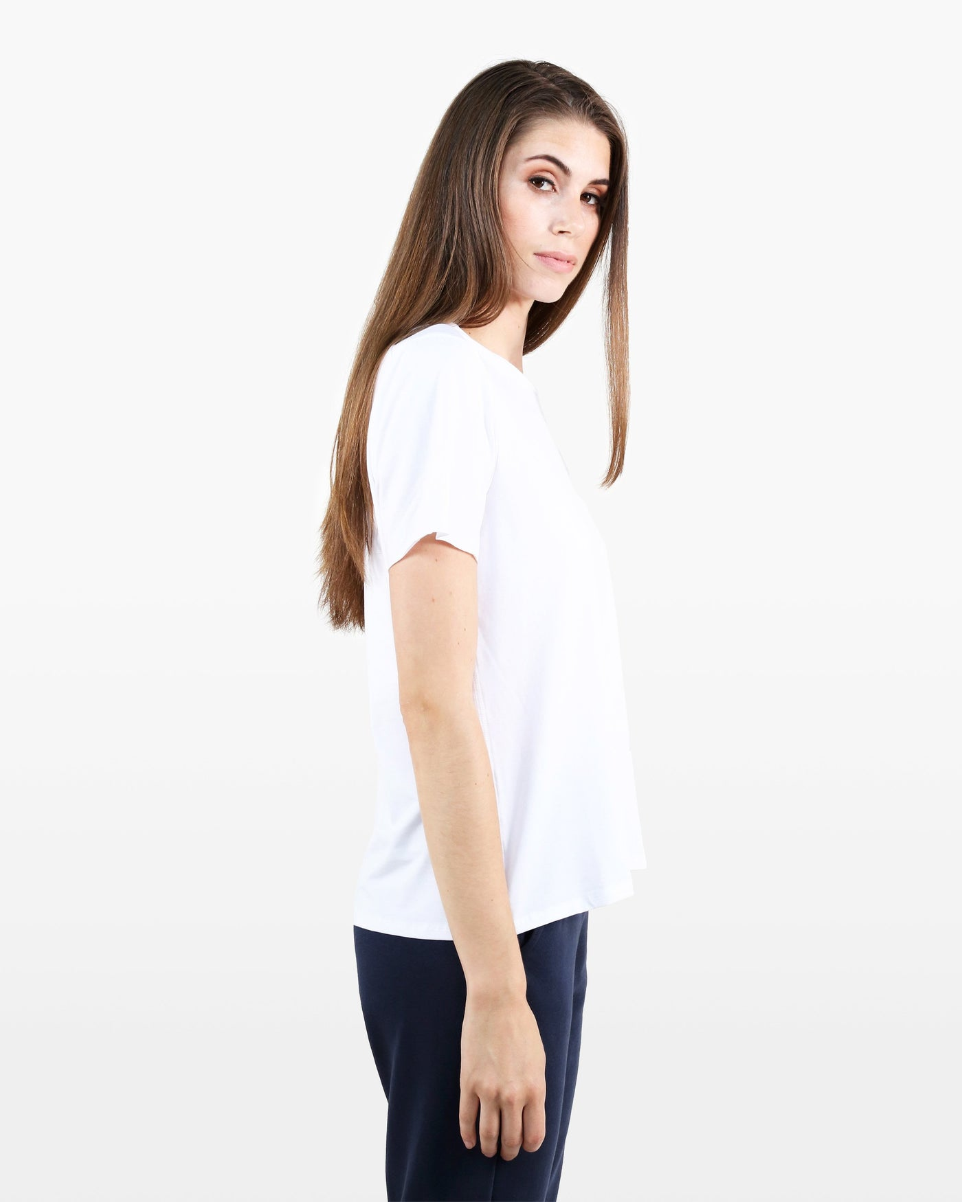 Avery Tee STJ in white