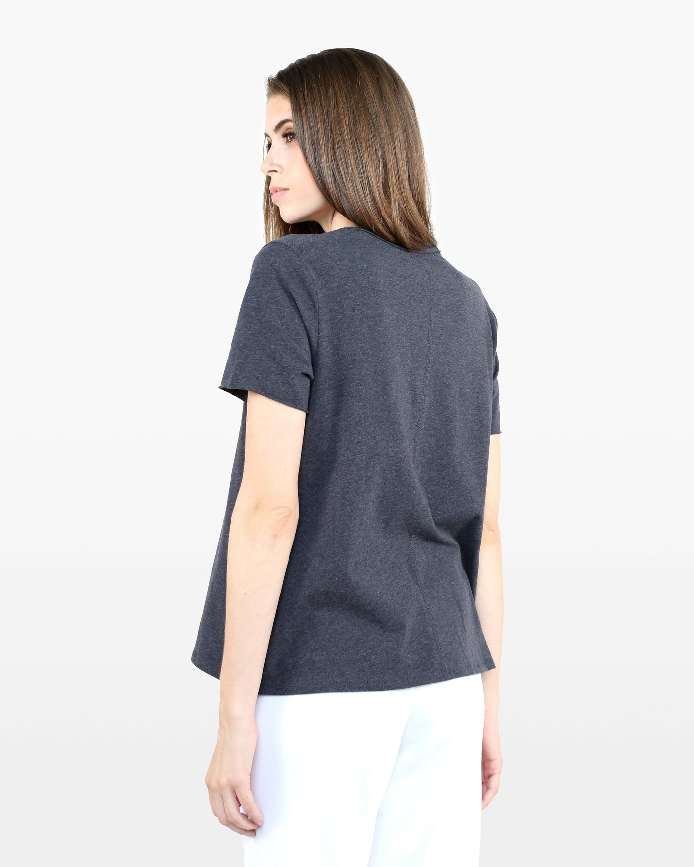 Avery Tee STJ in charcoal