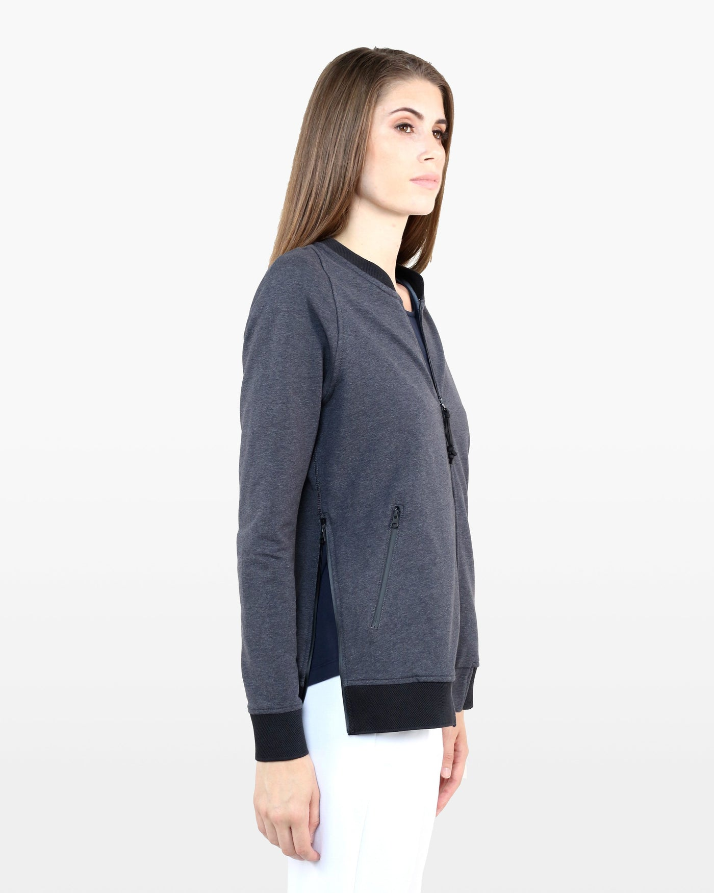 Nye Bomber Jacket DTT in charcoal