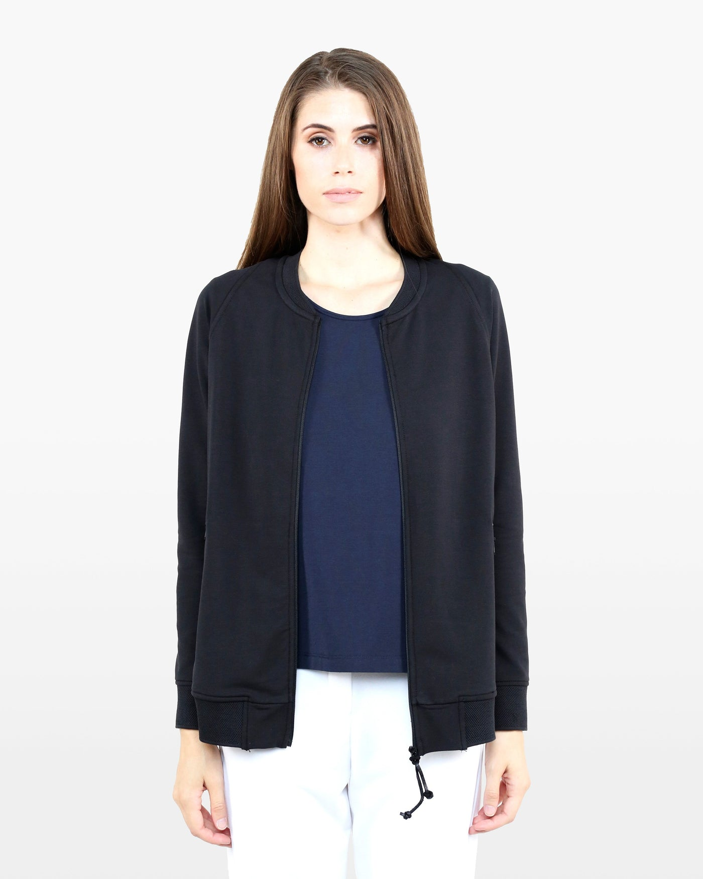 Nye Bomber Jacket DTT in black