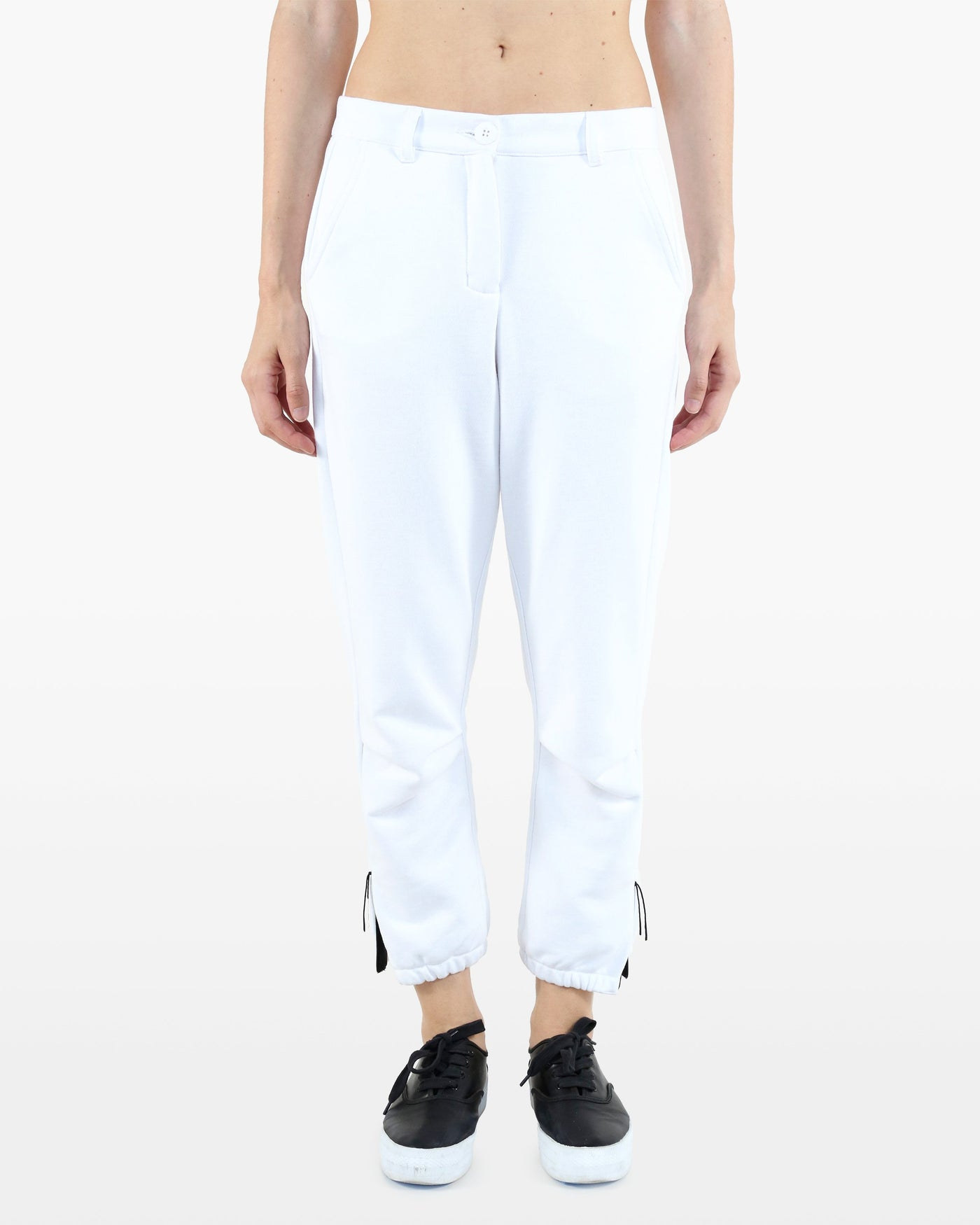 Lovelace Pant DDT in white