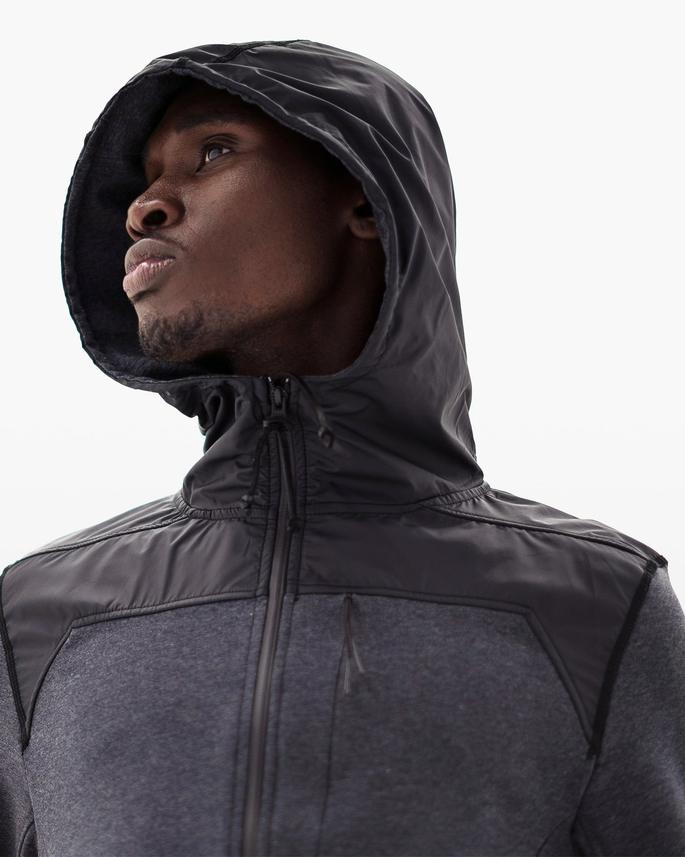 Franklin Hoodie DTT in charcoal
