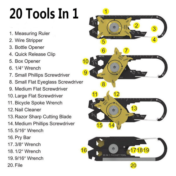 20-in-1 Multi Purpose Tool - Store4You.co