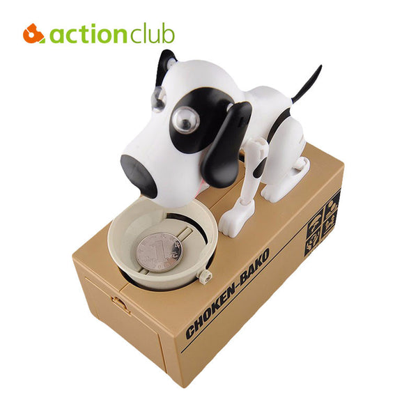 Adorable Robotic Puppy Coin Bank - Store4You.co
