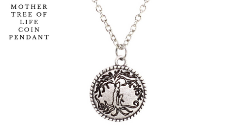 Mother Tree of Life Coin Pendant Collection