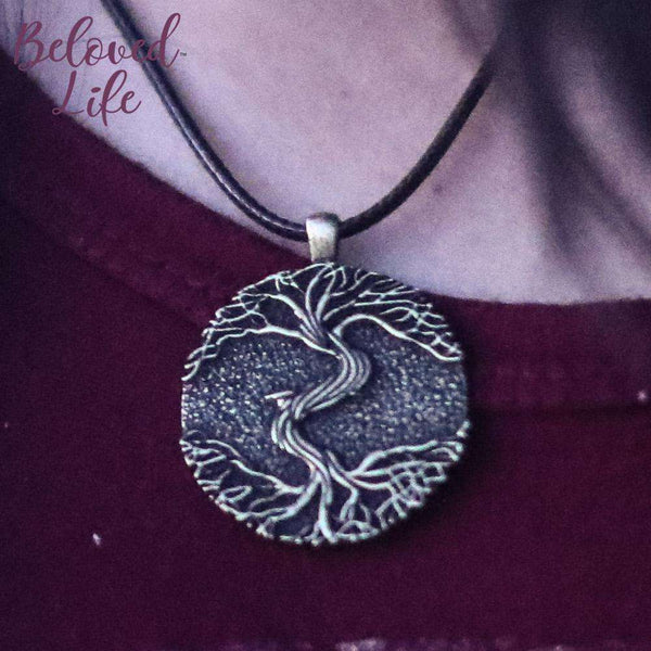 "Beloved Life Jewelry: ""As Above... So Below"" II Pendant Necklace [Bronze]"