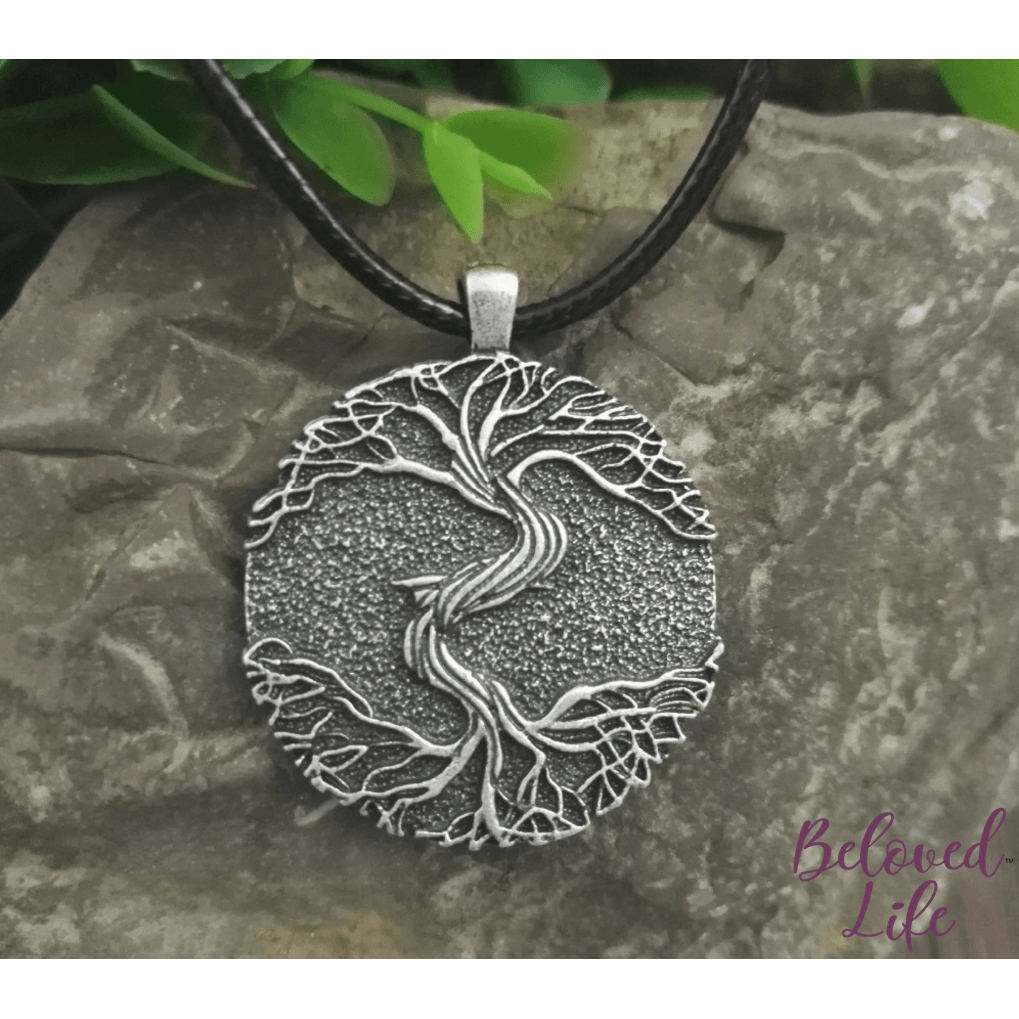 "Beloved Life Jewelry: ""As Above... So Below"" II Pendant Necklace [Silver]"