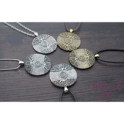 "Beloved Life Jewelry: ""As Above... So Below"" Pendant Necklace [Silver]"
